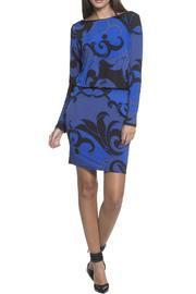 Arabesque Print Dress