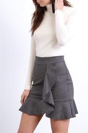 Ponte Ruffle Skirt