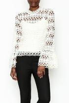 Leah Crochet Top