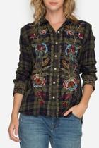 Marchella Plaid Shirt
