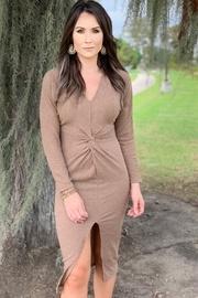 Meredith Long Sleeve Sweater Dress
