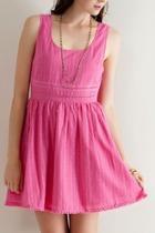 Sleevless Cotton Dress
