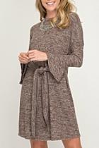 Bell Sweater Dress