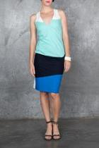 Racer Colorblock Dress