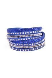 Blue Wrap Around Bracelet