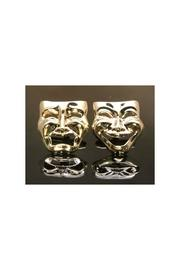 Theater Masks Cufflinks