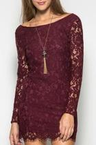 Lace Longsleeve Dress