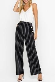 Striped Pants, Black
