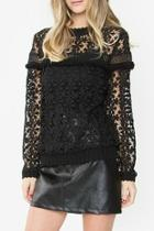 Dhalia Crochet Top