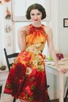 Dahlia Sleeveless Floral Dress
