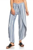 Stripe Wrap Pant