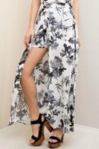 Floral Maxi Short/skirt