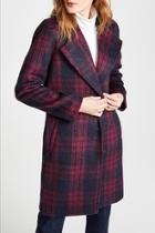 Aldean Plaid Coat