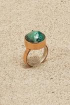 Copper Chrysocolla Ring