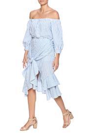 Striped Skirt Set
