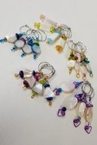 Mother-of-pearl Wine Charms