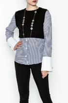 Stripe Sweater Shirt