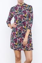 Socialite Floral Print Dress