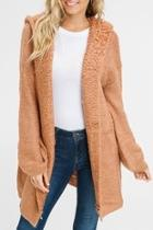 Chunky Hooded Cardigan