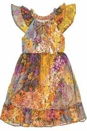 Larkspur Midi Peasant Dress
