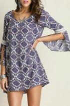 Purple Berry Dress