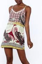 Artsy Printed Sleeveless Dress