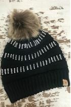 Rhinestone Knit Beanie