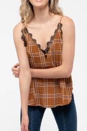 Plaid Camisole