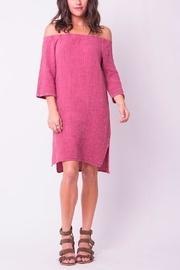 Pink Offshoulder Dress