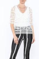 Sheena Crochet Top