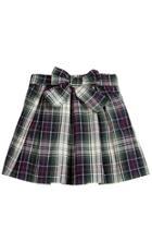 Tartan Taffeta Skirt.