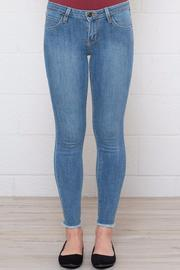 Frayed Cropped Skinnies