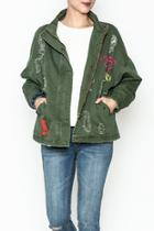 Ripped Military Jacket