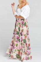 Misty Maxi Skirt