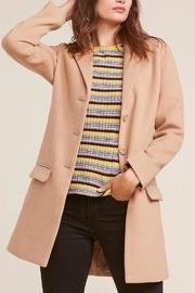 Twill Camel Coat