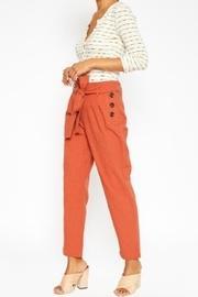 Paperbag Trouser, Rust