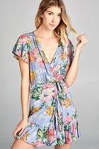 Resortwear Floral-print Minidress