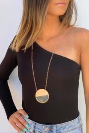 Half Stone Necklace