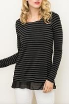Stripe Longsleeve Top