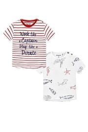 Sailboat-captain Tee-shirt Set