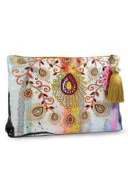 Moroccan-peacock Large Pouch