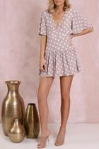Luciana Polkadot Dress