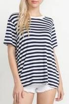 Striped Tee Top