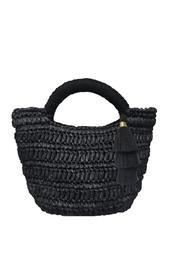 Maya Micro Mini Straw Bag