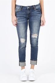 Wide-cuff Boyfriend Jeans