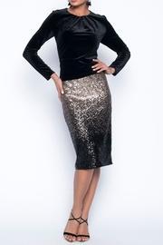 Frank Lyman Sequins Pencil Skirt