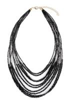 Multiple-strand Glass-beads Statement-necklace