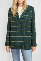 Madeleine Blazer Plaid