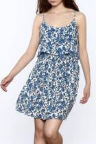 Popover Floral Dress
