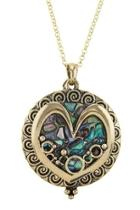 Heart Magnifying-glass Necklace